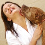Cheryl with Delilah - lick 285 x 300 pixels