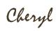 Cheryl Signature for Ezine